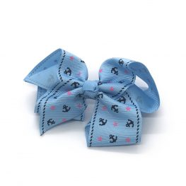 ahoy-mate-childrens-kids-hair-bows-clip-blue-1