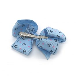 ahoy-mate-childrens-kids-hair-bows-clip-blue-1a