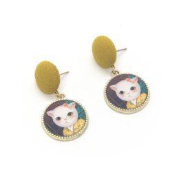 cat-in-a-kimono-vintage-style-earrings