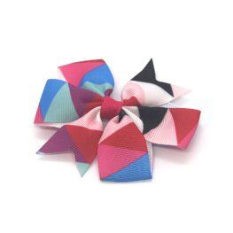 colours-of-joy-pinwheel-childrens-kids-hair-bows-clip-hot-pink-1