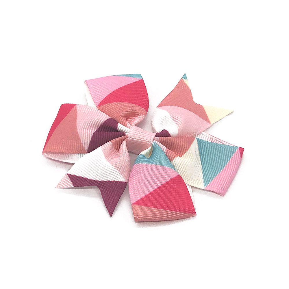 colours-of-joy-pinwheel-childrens-kids-hair-bows-clip-pink-1