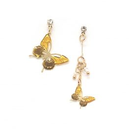 cute-butterfly-drop-earrings-yellow-6a