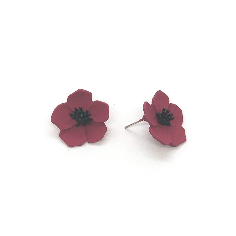 flower-power-stud-earrings-fuchsia-2