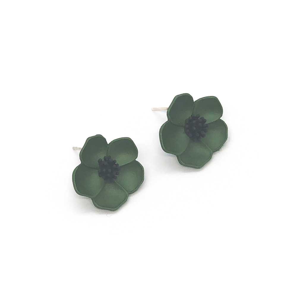flower-power-stud-earrings-green-2