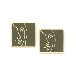 i-see-a-wink-abstract-art-earrings-olive-green-6b