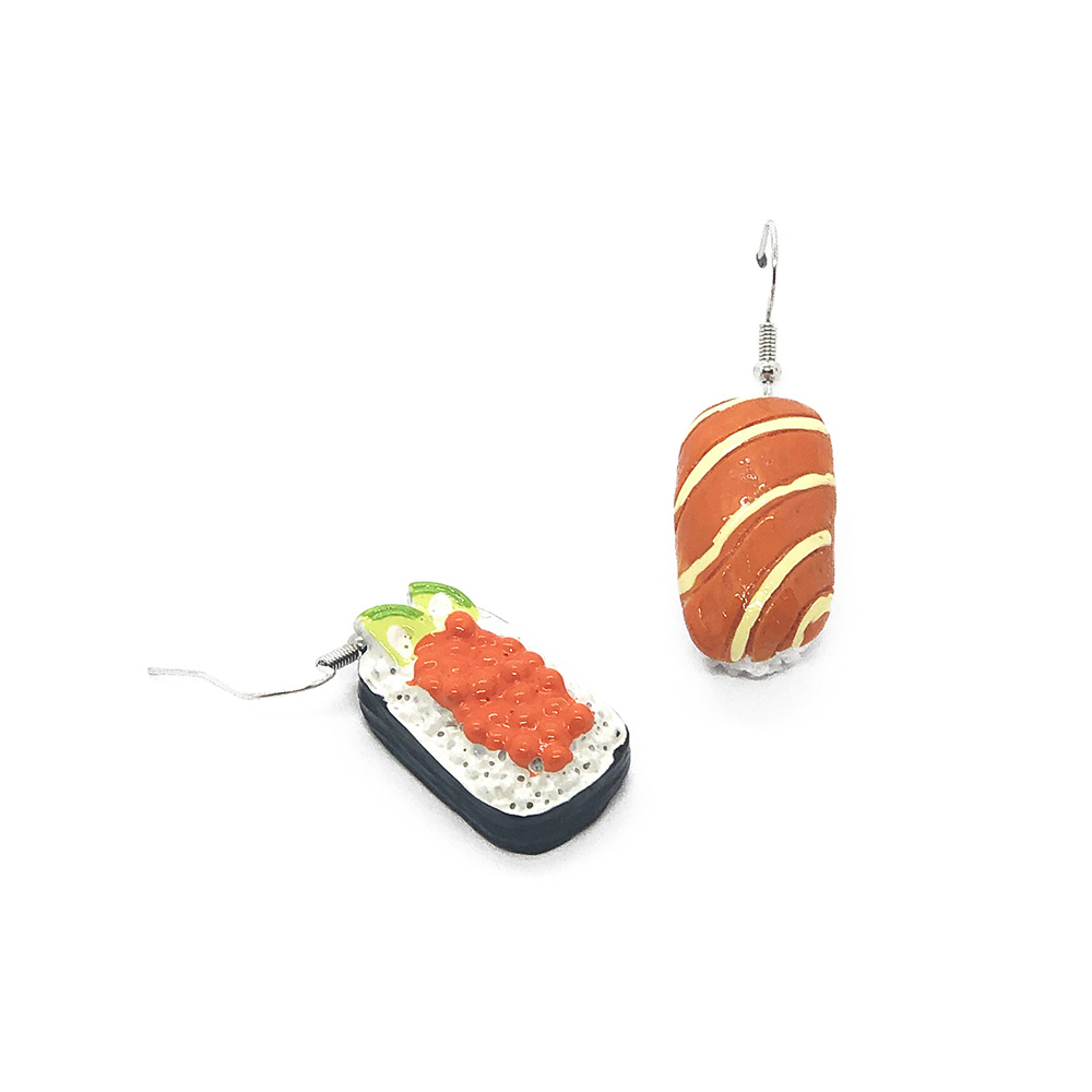 just-me-and-salmon-sushi-earrings