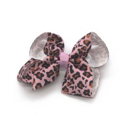 leopard-print-childrens-kids-hair-bows-clip-pink-1