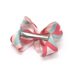 multi-coloured-childrens-kids-ribbon-hair-bows-clip-coral-1