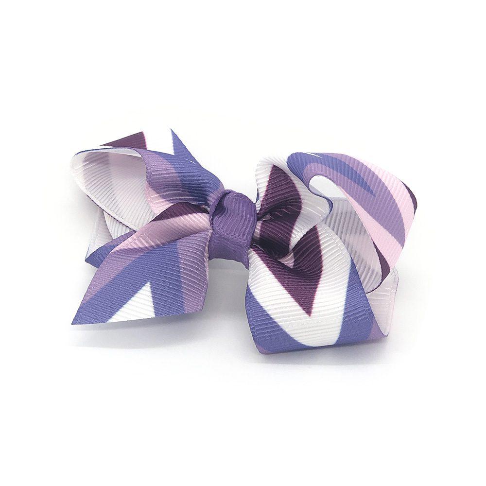 multi-coloured-pinwheel-childrens-kids-hair-bows-clip-dark-purple-1
