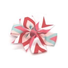 multi-coloured-pinwheel-childrens-kids-hair-bows-clip-red-1
