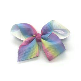 multi-tonal-childrens-kids-ribbon-hair-bows-clip-pink-1