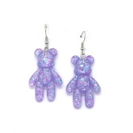 my-cuddly-bear-purple-earrings