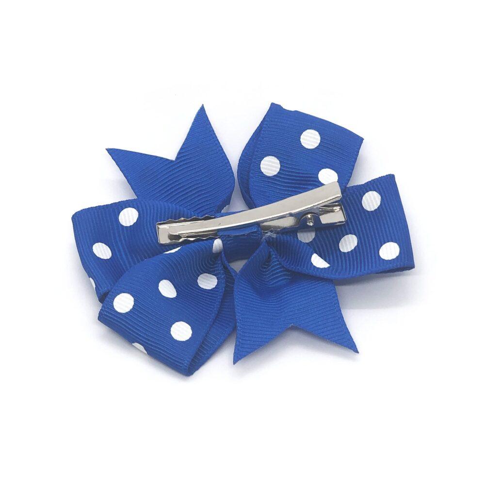 polka-dot-pinwheel-childrens-kids-hair-bows-clip-blue-1