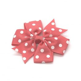 polka-dot-pinwheel-childrens-kids-hair-bows-clip-coral-1