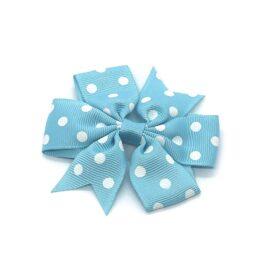 polka-dot-pinwheel-childrens-kids-hair-bows-clip-light-blue-1