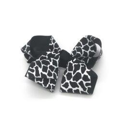 posh-in-prints-childrens-kids-hair-bows-clip-black-1a