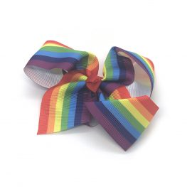 rainbow-striped-childrens-kids-ribbon-hair-bows-clip-1