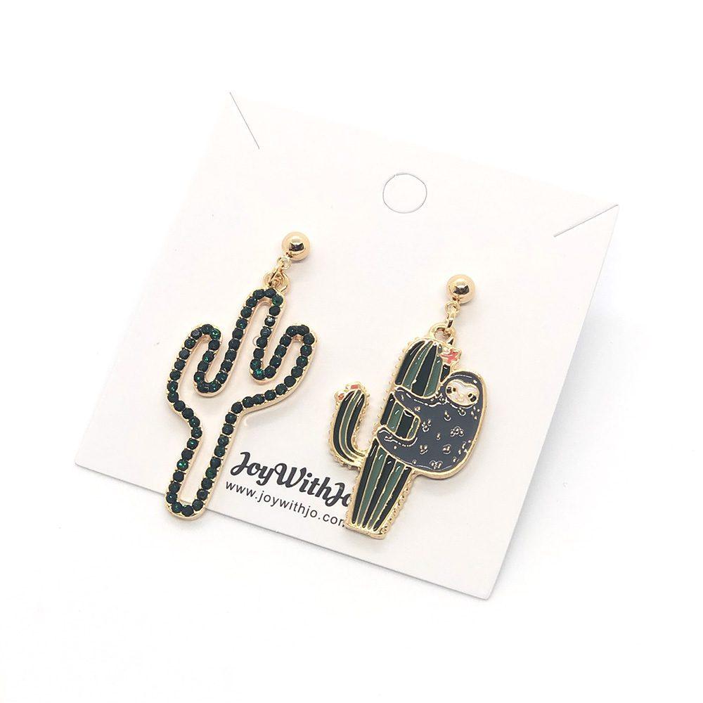sloth-on-cactus-earrings-6a