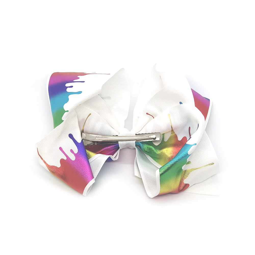 splash-of-colours-childrens-junior-ribbon-hair-bows-clip-2
