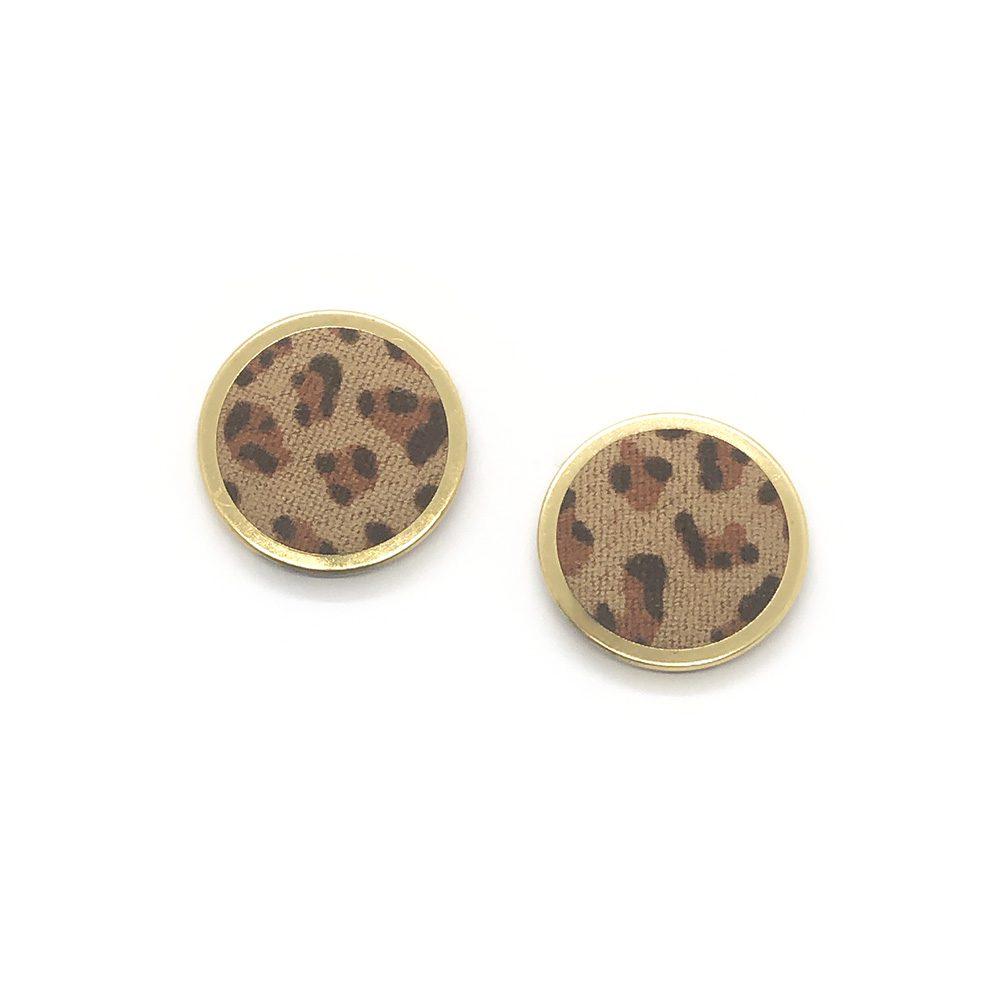 stylish-in-print-earrings-dark-brown-2