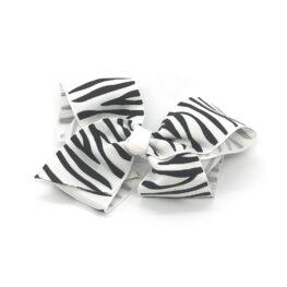 zebra-striped-childrens-kids-hair-bows-clip-white-1a