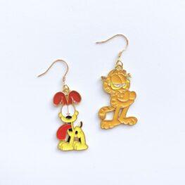 garfield-and-odie-cartoon-earrings-1