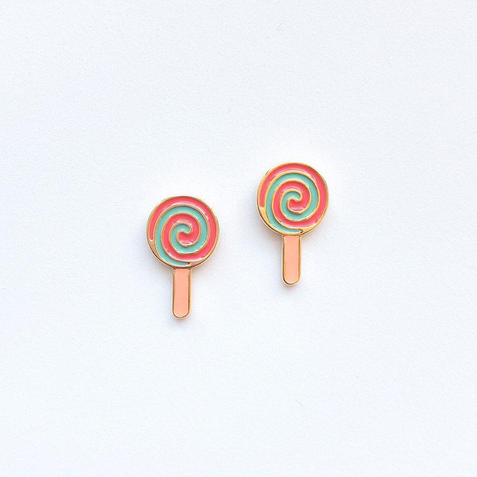 rainbow-lollipop-cute-earrings-studs-8