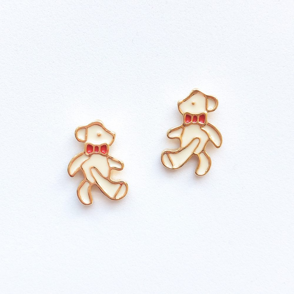 teddy-bear-cute-earrings-studs-1