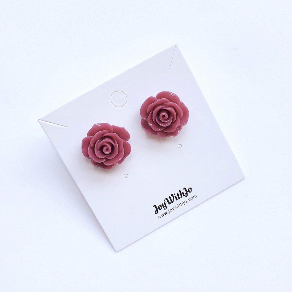 vintage-inspired-purple-rose-earrings-3b