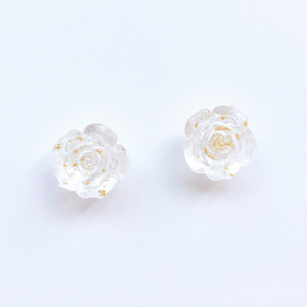 vintage-inspired-transparent-gold-rose-earrings-1