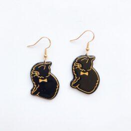 Cute-Black-Cat-Earrings-1