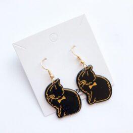 Cute-Black-Cat-Earrings-2