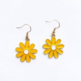 cute-daisy-drop-earrings-yellow-1d