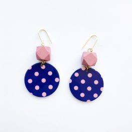 polka-dot-fun-earrings-pink-1