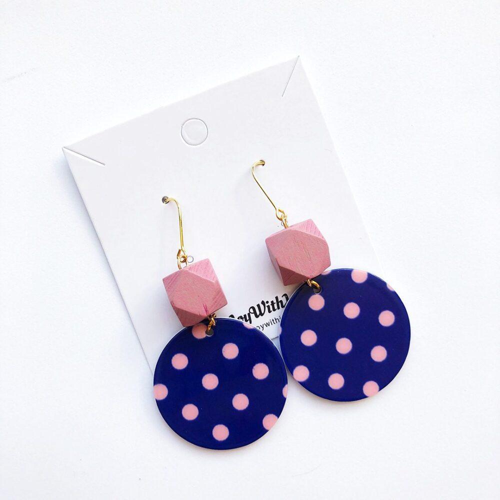 polka-dot-fun-earrings-pink-2