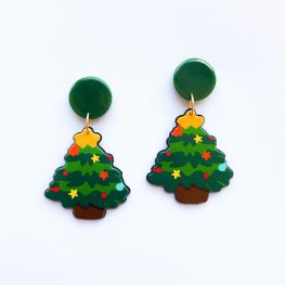 cute-christmas-tree-earrings-1