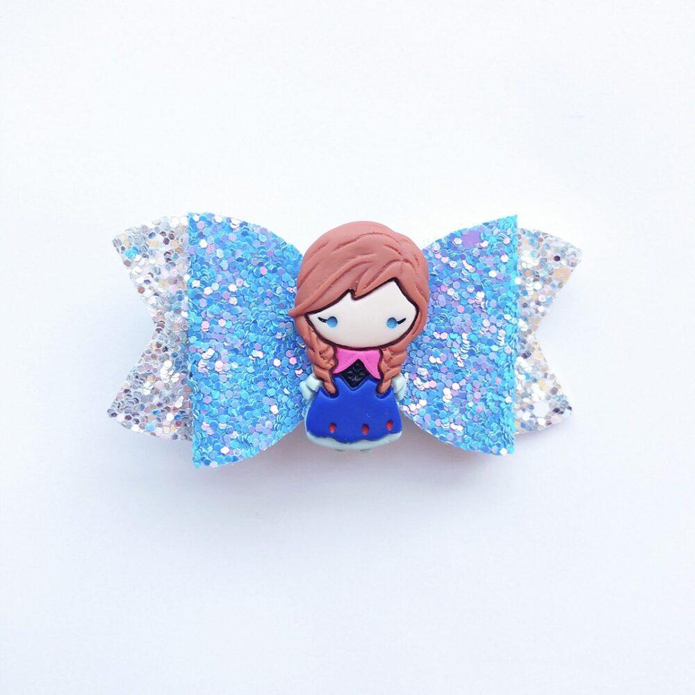 frozen-anna-in-blue-girls-hair-bow-1a