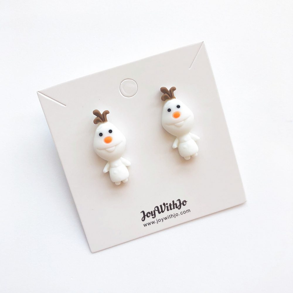frozen-olaf-cute-stud-earrings-2a