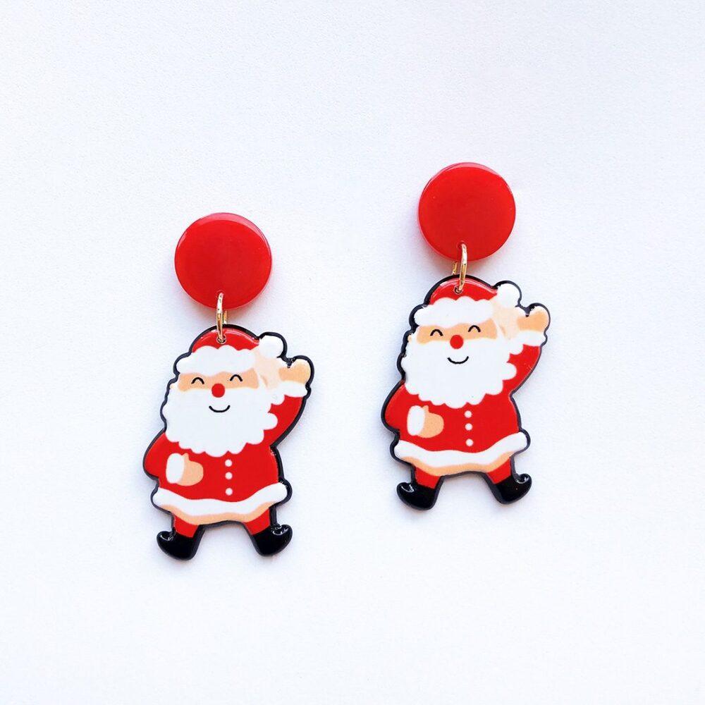santa-claus-merry-christmas-earrings-1