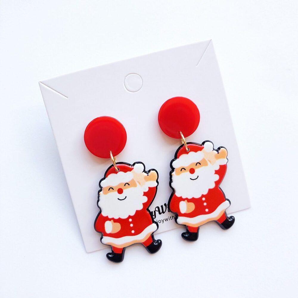santa-claus-merry-christmas-earrings-2