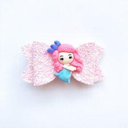 the-little-mermaid-pink-girls-hair-bow-1b