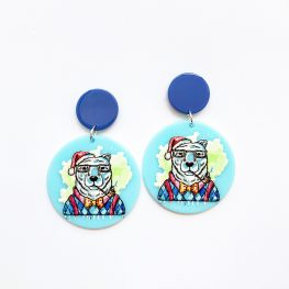 bear-just-chilling-out-christmas-earrings-1b