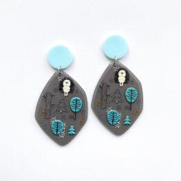 funky-hedgehog-earrings-1b