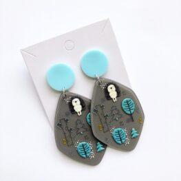 funky-hedgehog-earrings-1a
