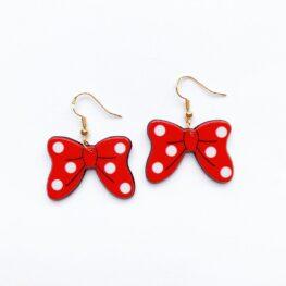 cute-red-polka-dot-bow-earrings-1