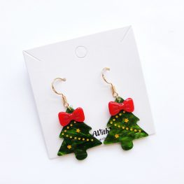 cute-resin-christmas-tree-earrings-2