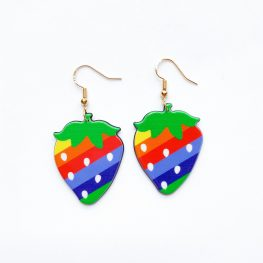 rainbow-polka-dot-strawberry-earrings-1a
