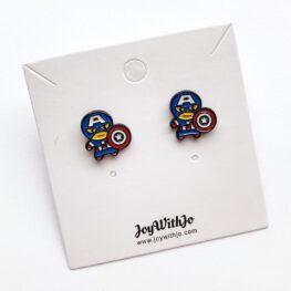 cute-captain-america-stud-earrings-1a