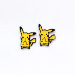 cute-pokemon-pikachu-stud-earrings-1a