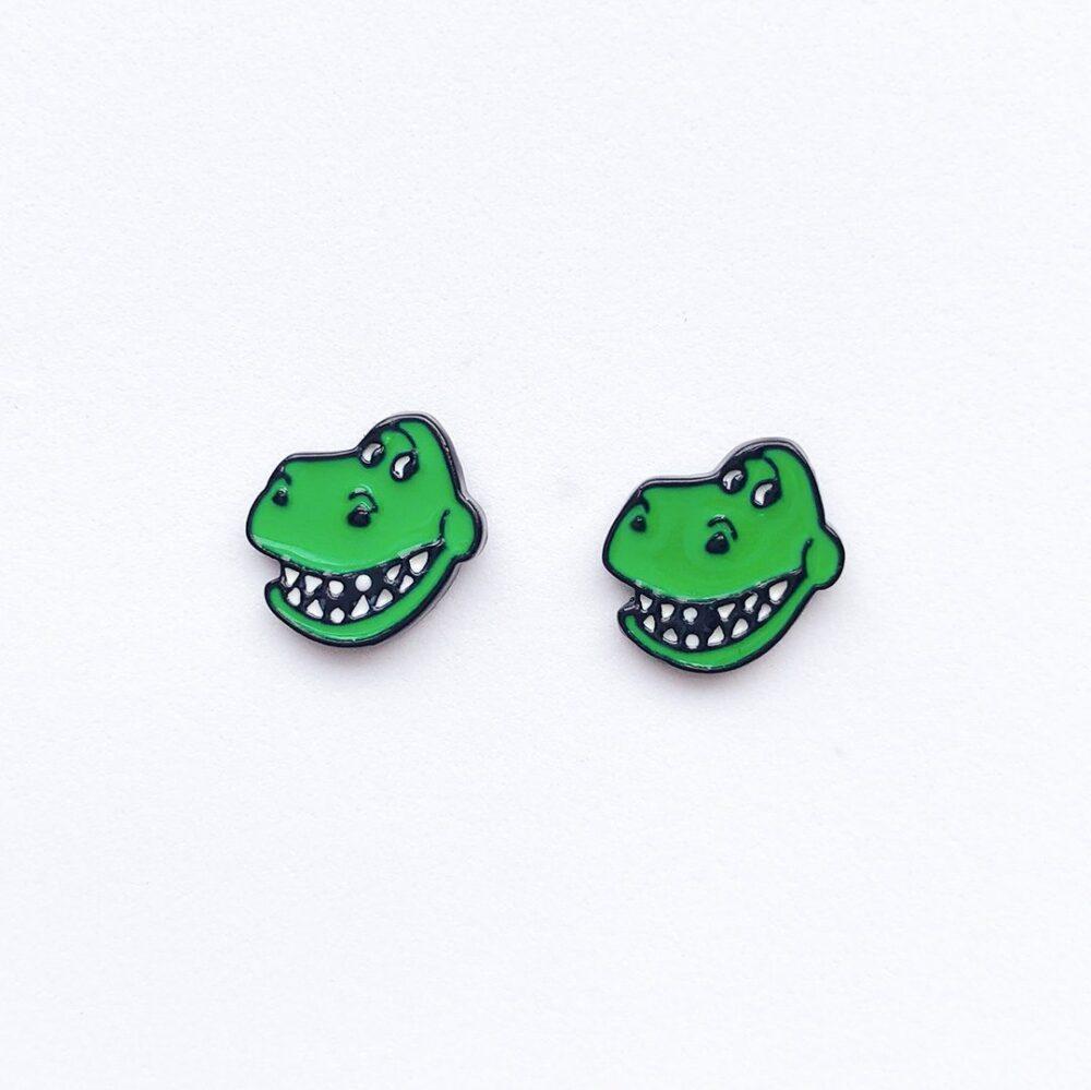 cute-toy-story-rex-stud-earrings-1a